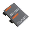 1 Pair HTB GS 03 A B Gigabit Fiber Optical Media Converter 1000Mbps Single Mode Single