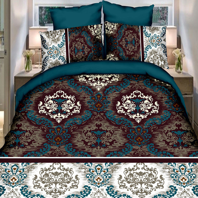 bedding set Moroccan style bedding set 3d bed sheet wedding luxury Quilt/Duvet cover Bedspread bed linen bedclothes(China (Mainland))