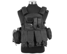 Airsoft Military 1000D US Navy Seals Tactical Molle LBT 6094 Vest Outdoor Combat Hunting Nylon Molle Vest w/Pouches FreeShipping
