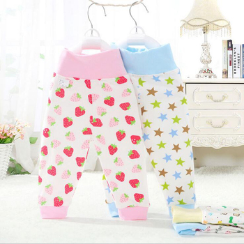 Baby PP Pant For Babies High Waist Belly Care Soft Cotton Baby Girl Trousers Winter Autumn Leggings For Children Pants For Kids