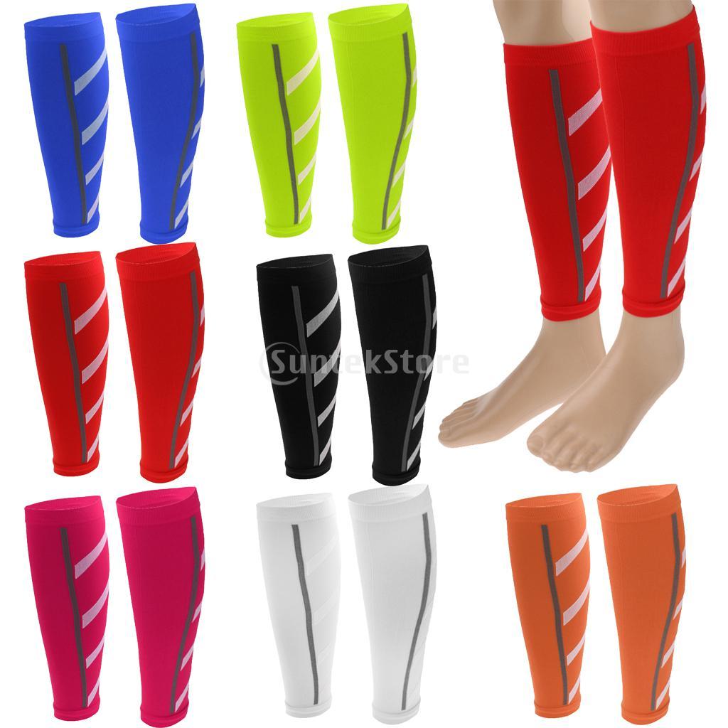 1Pair Men Women Cycling Leg Warmers Calf Support Shin Guard Base Layer Compression Running Soccer Football Basketball Leg Sleeve(China (Mainland))