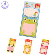 Creative Memo Pad Notebook Paper Stationery Kawaii Rilakkuma Mac Lipstick Scrapbooking Post It Notes 8PCS/LOT N#671(China (Mainland))