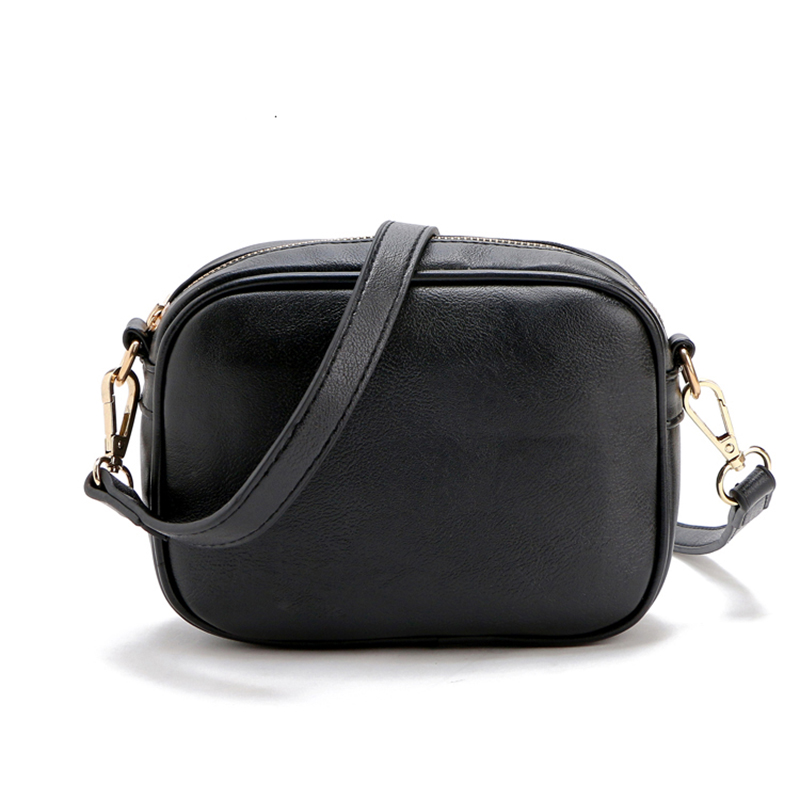 Spain Brand Quality Stylish Simplicity Square Messenger Bag PU Leather Casual Cute Small Women Bag 4 Colors(China (Mainland))