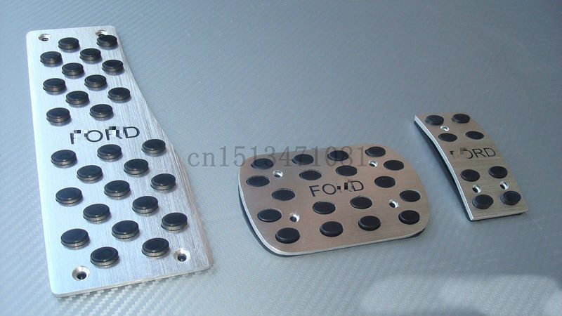 Car Pedal Pads Cover Stainless Steel for 2012-2013 Ford New Focus AT(China (Mainland))