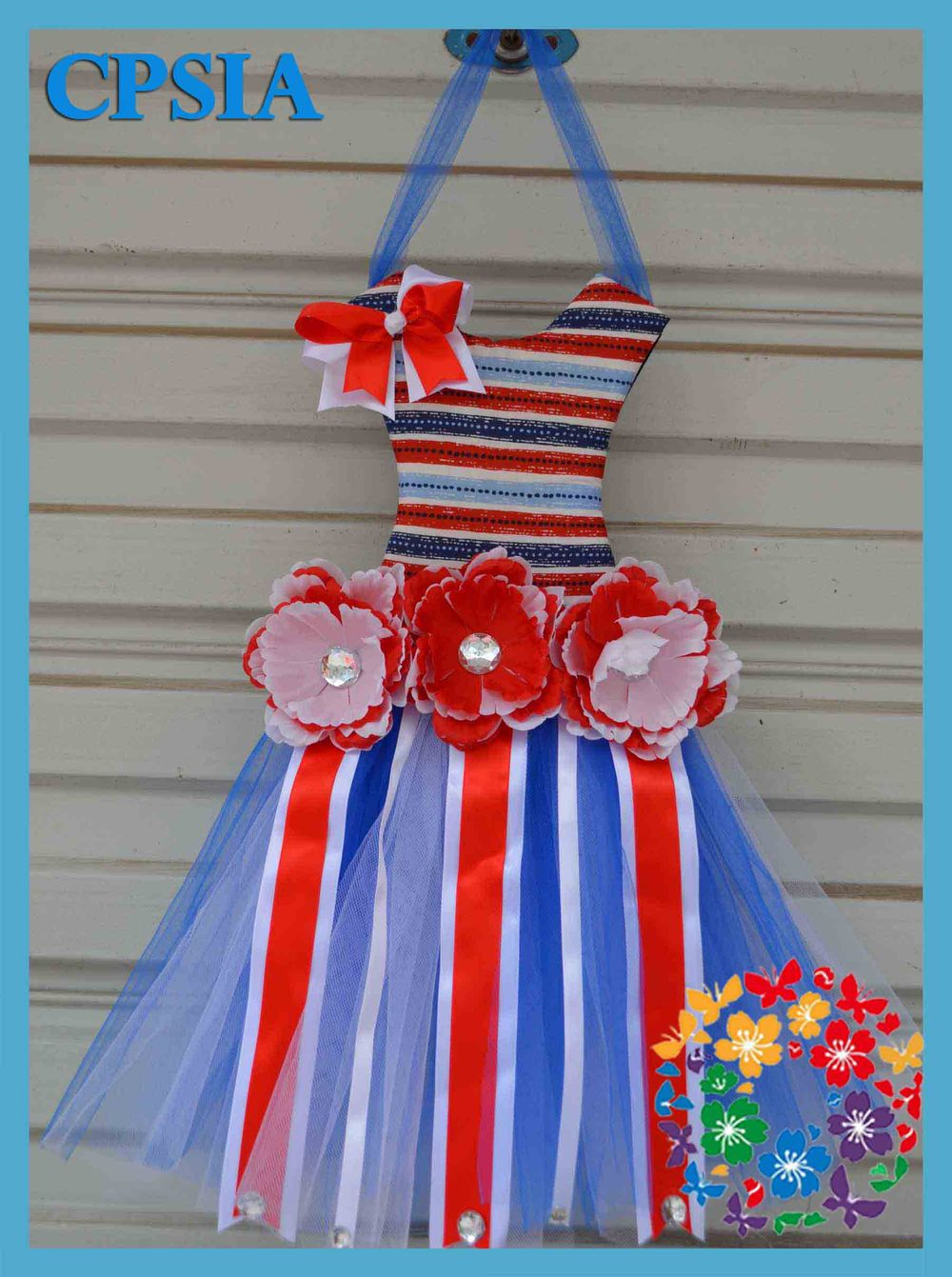 2013 Hot patterns for girl dresses baby boutique wholesale child baby dress model tutu bow holder(China (Mainland))