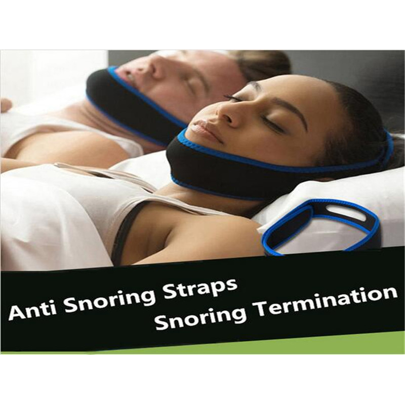 1pcs Snore Belt Stop Snoring Sleep Apnea Chin Support Strap Health Care Cessation Snoring Devices Ronquidos To Breathe Right