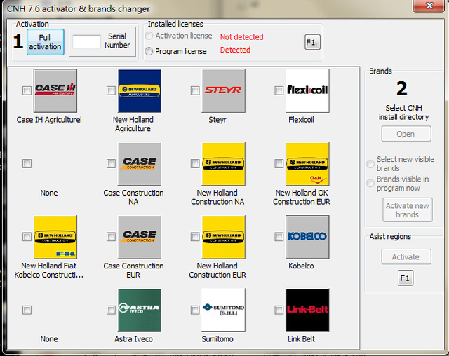 CNH EST 7.6 Keygen / CNH EST 7.6 activator for New Holland DPA5 CNH est 7.6 version software
