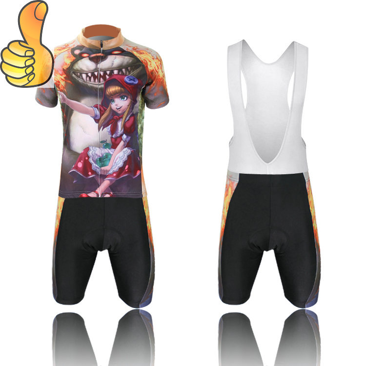 15 Latest Style!Boys and Girls Children's Wear Shorts Female of the dark Cycling Jerseys in Children Short Sleeve Bike Clothing(China (Mainland))