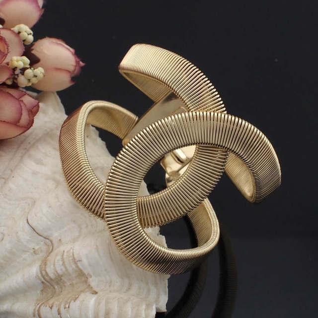 Мода дизайнер CC украшения Elegent сплава широкий с весны браслет манжета браслеты ...