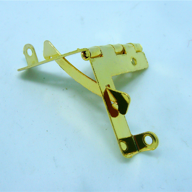 50pcs 31*34 metal hinge gold color hinge for box furniture hinge wholesale vintage hardware(China (Mainland))