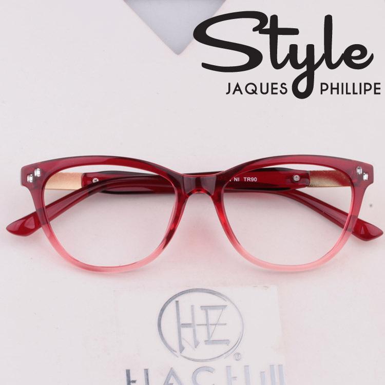 online glass frames gk8w  2016 New TR 90 Cat Eye Optical Glasses Frame Women Stylish Red Eye Glasses