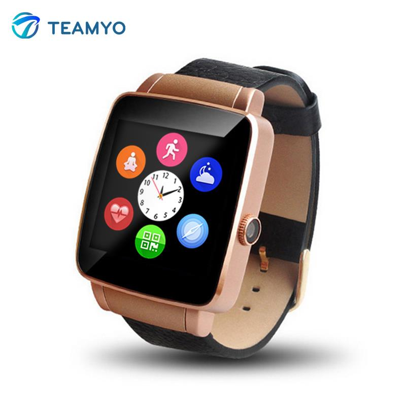 2016 Teamyo New Arrival X6 Smart Watch Phone Bluetooth 4.0 Smartwatch Wristwatch For iphone Android Pedometer Fitness Tracker<br><br>Aliexpress