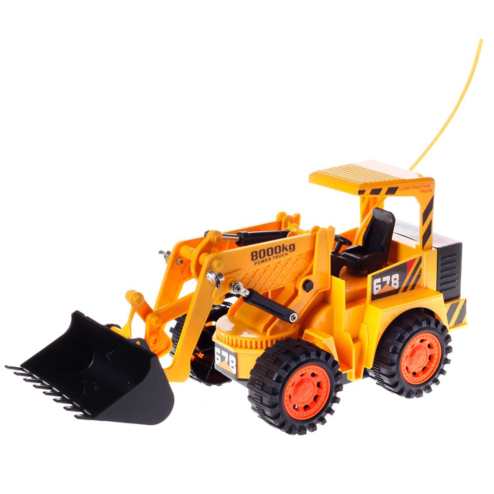 Yu Hang 8026 5CH RC Truck Remote Control Loader Forklift Truck Toy Gift for Children Kids Yellow(China (Mainland))