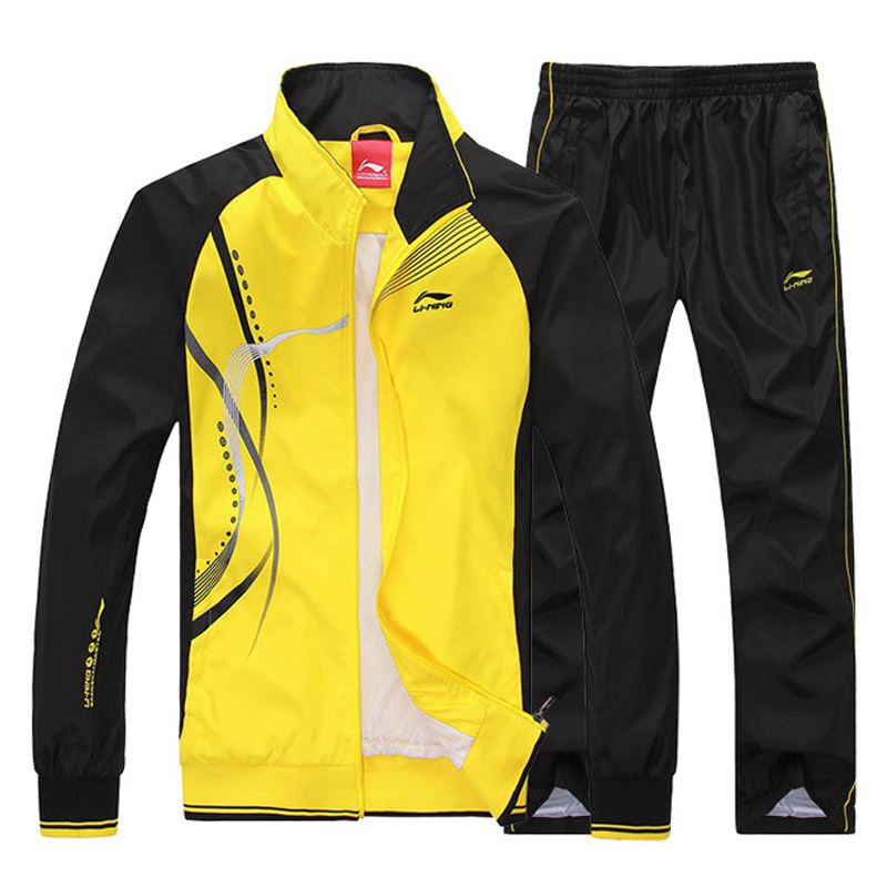 2015 new spring autumn men's casual sportswear brand tracksuit sport suit men (overcoat+pants)running sports clothing SP127 - Fashion Man Workshop Co. Ltd store