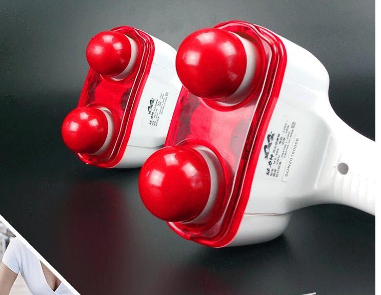 Plastic Body Massager Hammer Health Care Neck Back Massage Masajeador High Quality Massageador Eletrico Free shipping MD-888 cheap