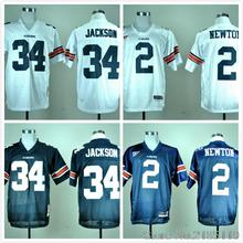 Auburn Tigers 2 Cam Newton 34 Bo Jackson College Jersey Embroidery Logo(China (Mainland))