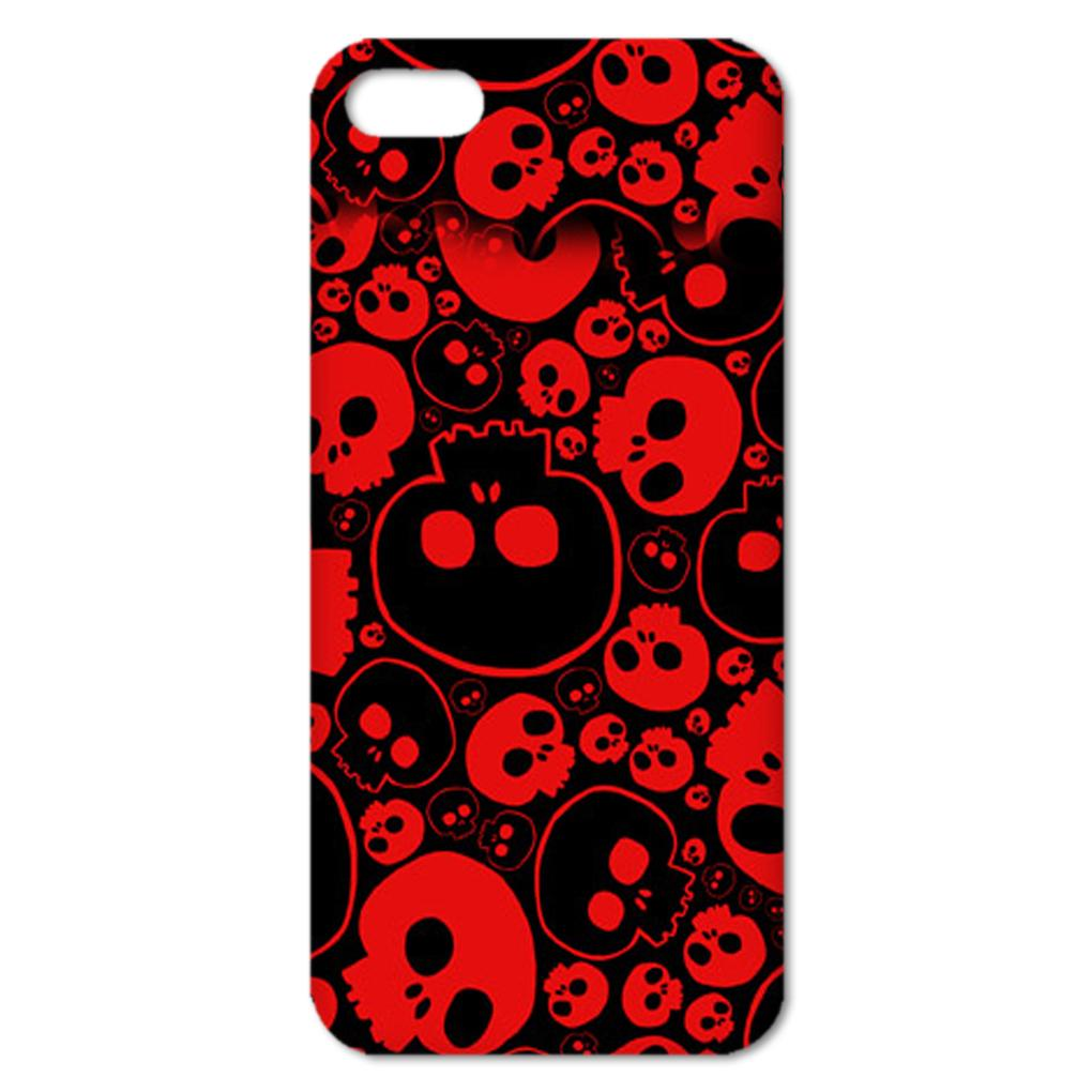 Hot fashion Cool Cartoon skull Series Colorful Skull head Protective Hard Case Cover for iphone 6 4.7/6 plus 5.5 inch(China (Mainland))