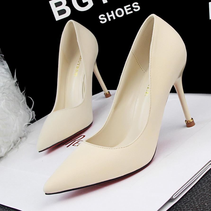 Plain Red Heels