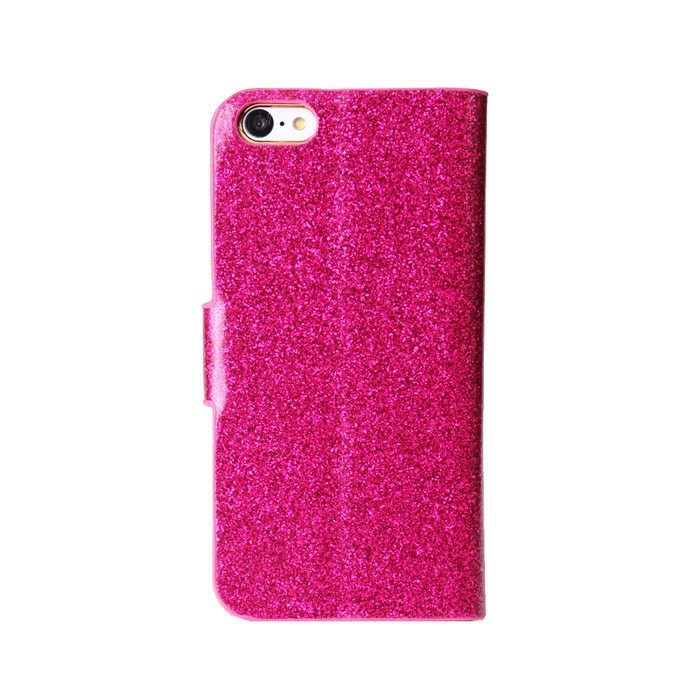Pu Leather Glitter Stand Case For Apple Iphone 5c Sparkle Cover Mobile Cell Phone Bling Bling Cases Shell Sleeve Protective