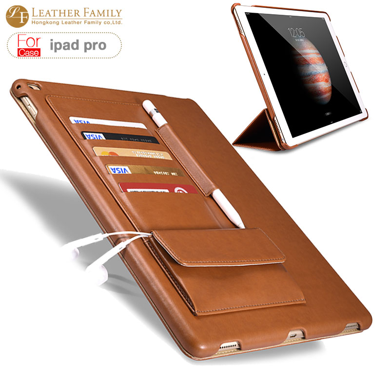 For apple ipad pro pu leather Cover Protective Case for ipad pro Leather Case Stand Mount Holder for ipad 12.9 inch Accessories<br><br>Aliexpress