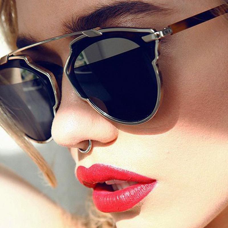 2015 So Real Polarized Sunglasses Cat Eye Women Original Brand Designer Sun Glasses Polaroid Lens Gafas Oculos De Sol A9040(China (Mainland))