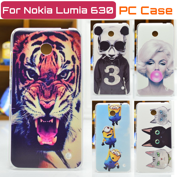 New Ultra-thin cell phone case for nokia lumia 630 back cover Free Shipping(China (Mainland))