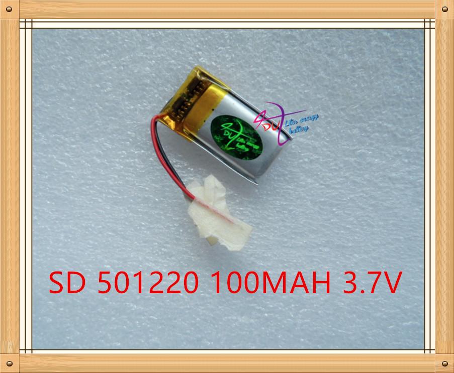 Liter energy battery WEP210 WEP301 WEP200 Bluetooth headset 3D glasses 501220 051220 100mAh(China (Mainland))