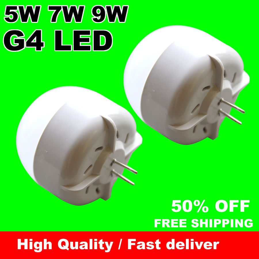 3W 5W 7W 9W G4 LED lamp 220v 230v 240v bulb 5730 LEDs Epistar High quality Warm white Cold white Wholesale free shipping<br><br>Aliexpress