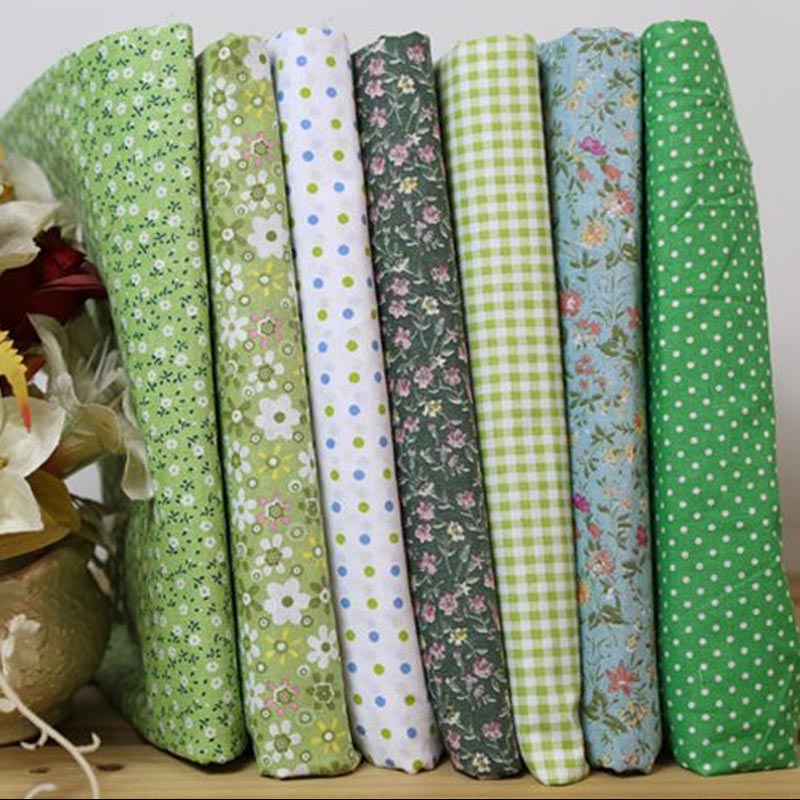 50*50cm Quilting plain weave cotton cloth manual fraction DIY garden floral handmade fabric sewing - Constance's boutique store