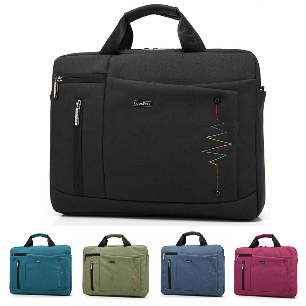 New Brand Notebook Computer Laptop Bag Case Carrying Handle Briefcase For 14 15 15.4 15.6 Inch Apple Dell Netbook Messenger Bag(China (Mainland))
