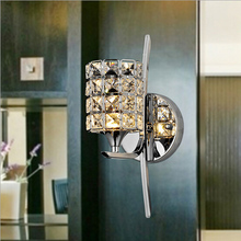 Modern Dimmable Crystal LED Wall Light Sconce Lamp Indoor Lighting(China (Mainland))