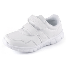 Baby Boys Child Sports Running Shoe Kids Boy Kid Baby Infant Casual Shoes white size 23-37 free shipping(China (Mainland))
