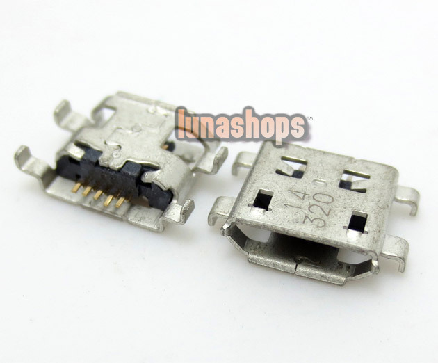 U182 Repair Parts Micro USB Data charger port Adapter For Android Tablet etc 5pin LN003741
