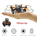 YiZhan I6S Mini Drones with Camera HD 2MP 6 Axis Nano Drone Dron 3D Roll Over