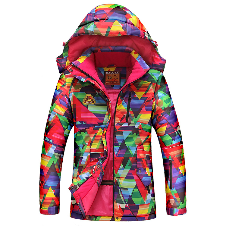 Cheap womens Ski Coat Ladies Snowboard Clothes Colorful Jacket 10K Waterproof thermal Snow Suit warm winter Outdoor Sports<br><br>Aliexpress