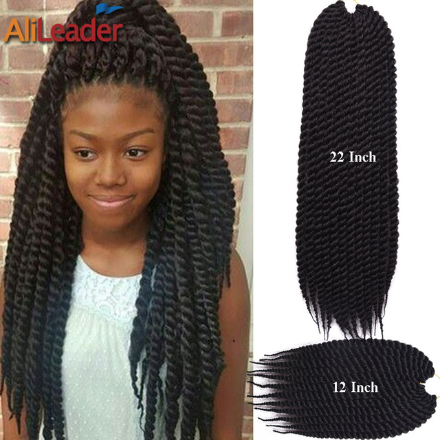Crochet Hair Packages : Crochet Braid Hair 12 22 12Roots/Pack 2X Box Braids Crochet Braid...
