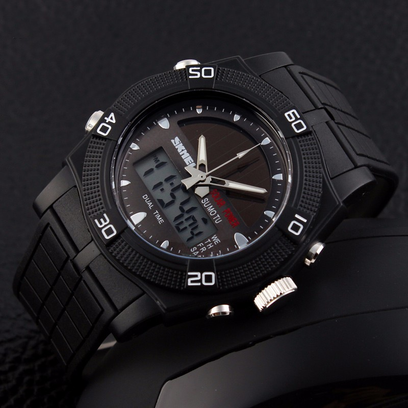 Waterproof solar WATCHES men wristwatch automatic watch datejust mens clock top quality brand army military clocks chronograph