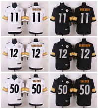 High quality,Pittsburgh Steelers,#11 Markus Wheaton #12 Terry Bradshaw #50 Ryan Shazier Elite,camouflage(China (Mainland))