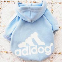 2015 Fashion Spring Autumn Dog Clothes Pets Coats Puppy Adidog clothes Wholesale and Professional designer pet clothing #50(China (Mainland))