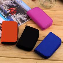 New Hot Selling Orange SD SDHC MMC CF Micro SD Memory Card Storage Carrying Pouch card Holder Case Wallet(China (Mainland))