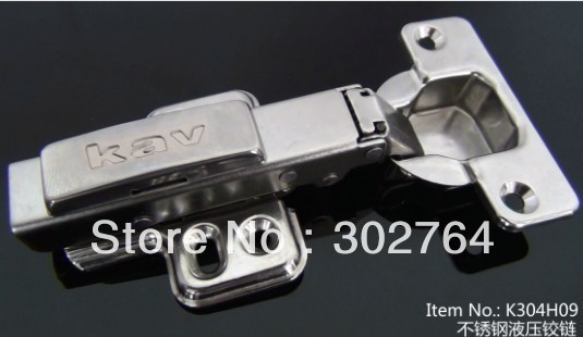 product 40PCS concealed hydraulic furniture stainless steel 304 cabinet hingeclip  full overlay hardware