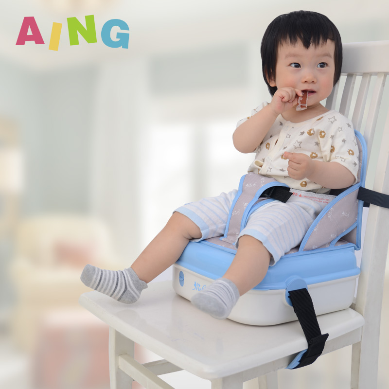 Baby portable aing dining chair folding baby increased pad chair child dining chair seat nappy bag(China (Mainland))