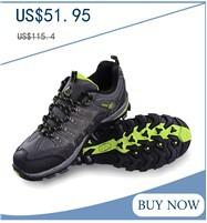 RAX New Double Waterproof Hiking Shoes Men Slip Resistant Genuine