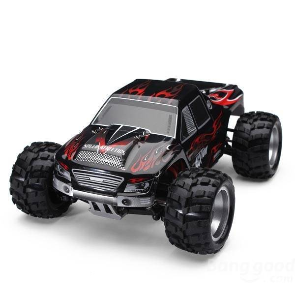 WLtoys 2.4G 4WD 1:18 High Speed Monster Truck Rally Off-Road Buggy Style RC Car Vehicle RTR(China (Mainland))