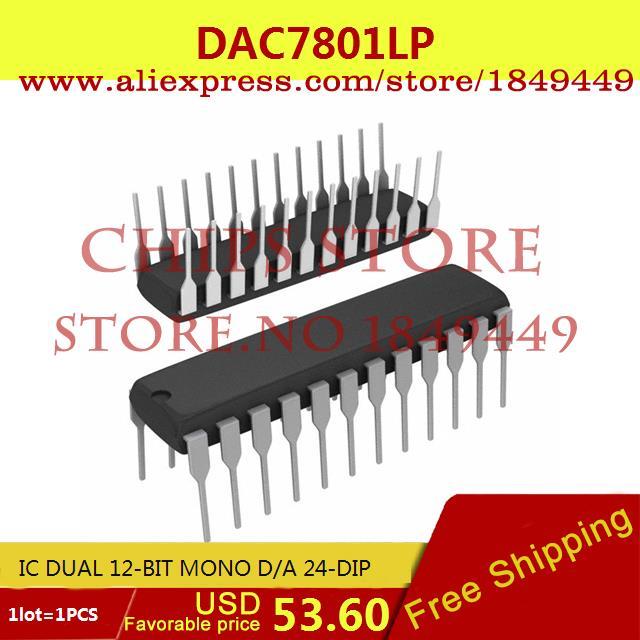 Здесь можно купить  Free Shipping Electronic Parts DAC7801LP IC DUAL 12-BIT MONO D/A 24-DIP 7801 DAC7801 1pcs  Электронные компоненты и материалы