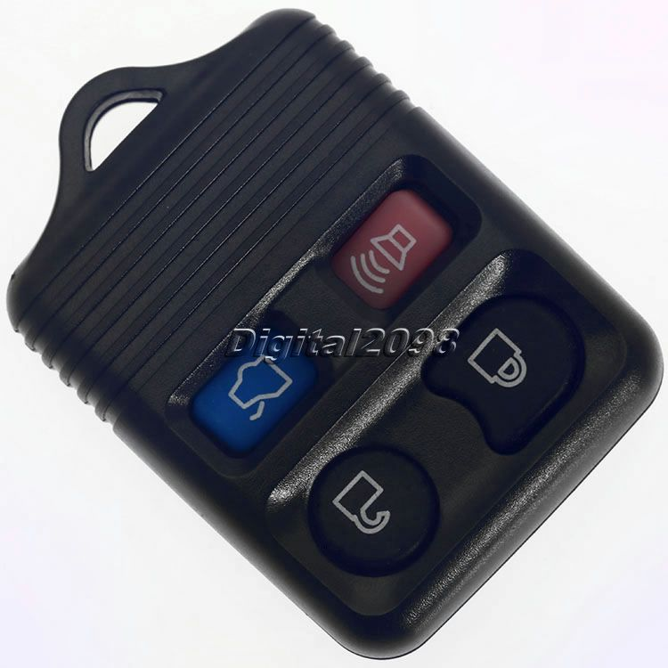 1Pc 4 Buttons Lock+Unlock+Panic+Truck Key Shell Keyless Entry Remote Key Fob Case Clicker Transmitter Control Beeper Key Covers(China (Mainland))