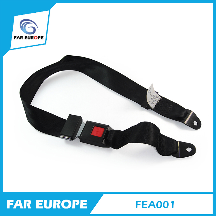 E-mark Certificate Car 2 Point Safety Seat Belt Manufacturer School Bus Safety Belt FEA001(China (Mainland))