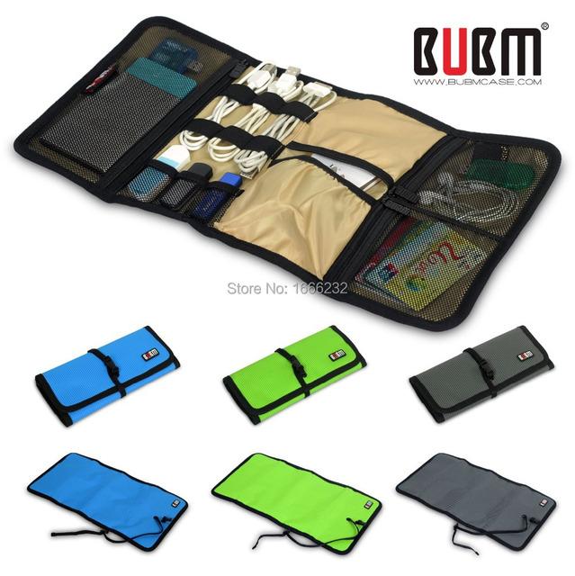 Bubm防水電子アクセサリー ケース/旅行収納ケース/メンズ アウトドア ブランド バッグ/ツール