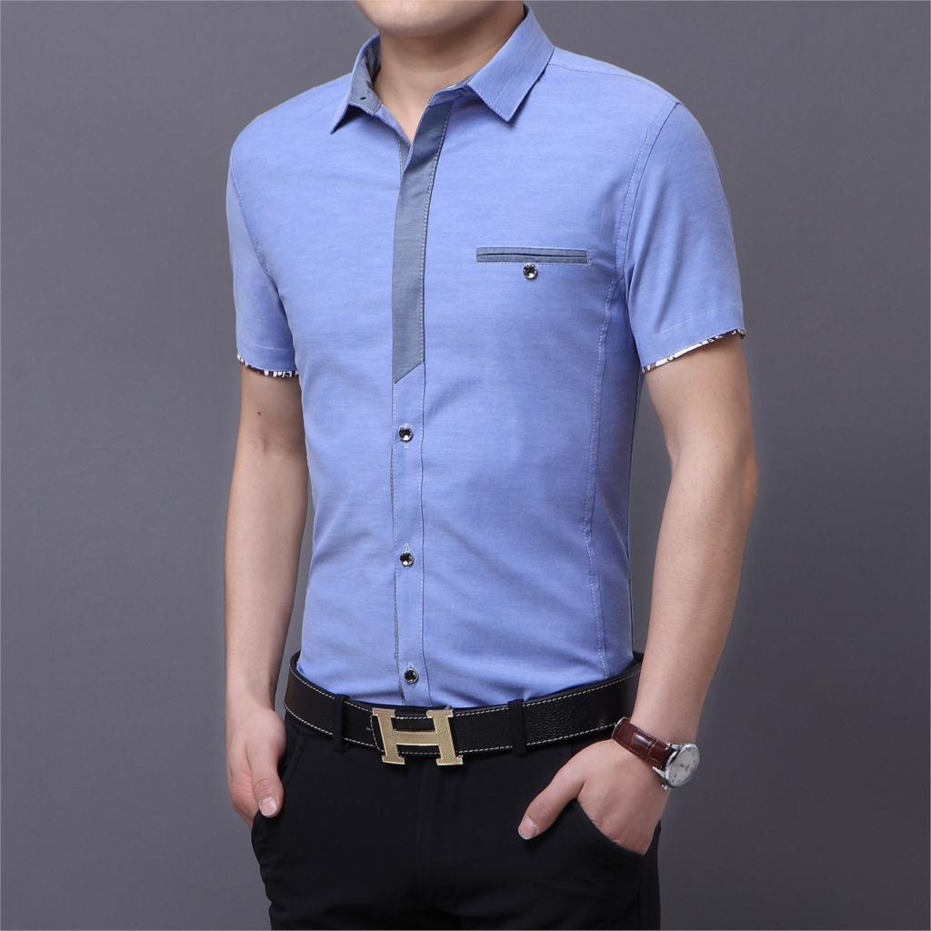 short sleeve dress shirts for men cocktail dresses 2016