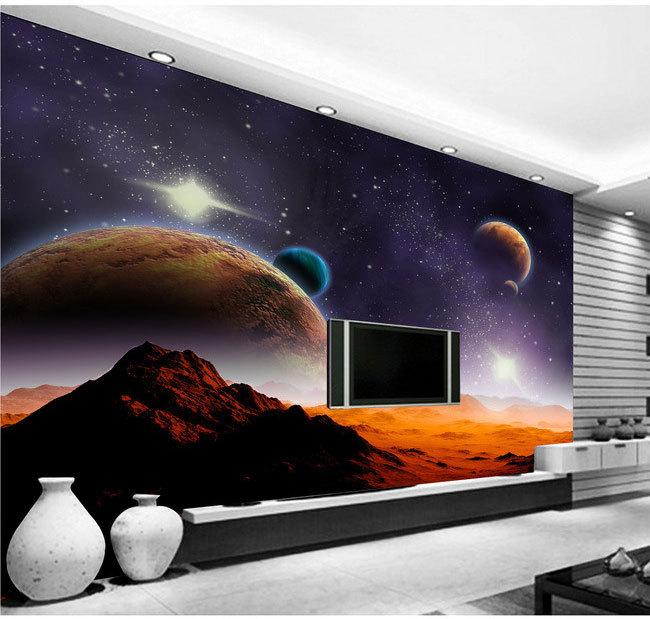 Buy alien universe star 3d stereoscopic for Universe wallpaper for bedroom